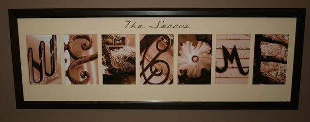 Letter Art Gallery Custom Letter Art From Krista S Creations